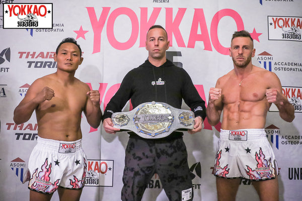 YOKKAO 45-46 Weigh-in Results