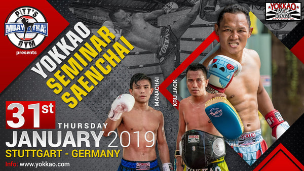 Saenchai & Manachai Team up for New YOKKAO Seminar Concept