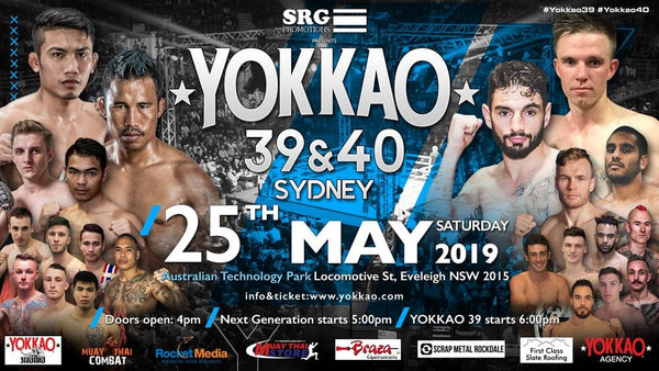 YOKKAO 39 - 40 Full Fight Card