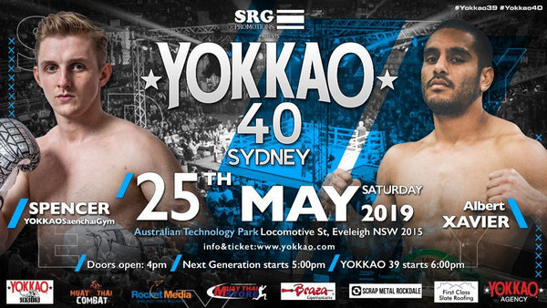 Spencer takes on Albert Xavier at YOKKAO 40