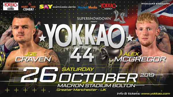 YOKKAO 44: Joe Craven vs Alex McGregor