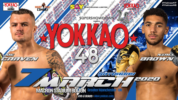 YOKKAO 48: Joe Craven vs Niall Brown