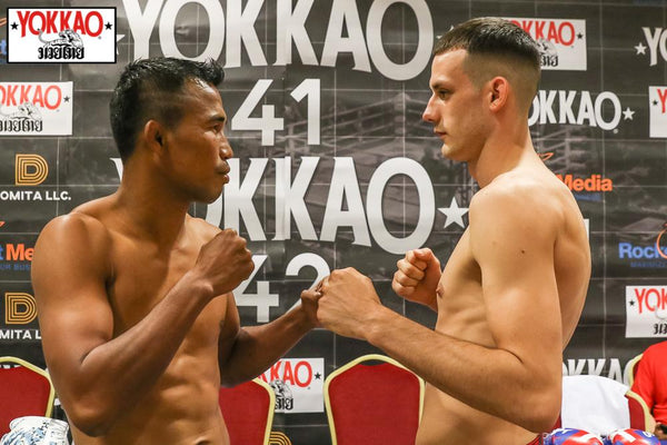 YOKKAO 41-42 Weigh-In Results