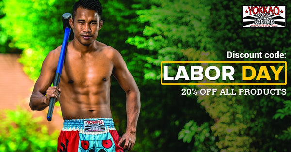 YOKKAO Celebrates Labor Day With 20% Off Storewide!