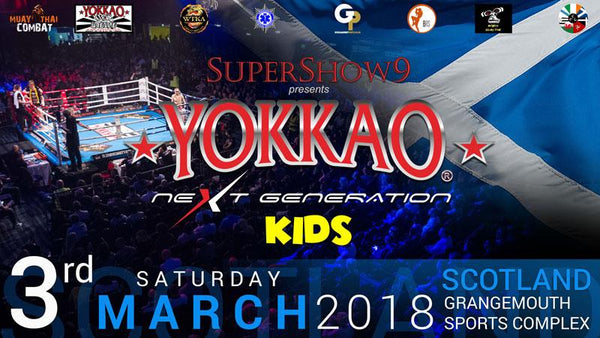 YOKKAO Next Generation Kids Confirmed for Scotland 3rd March!