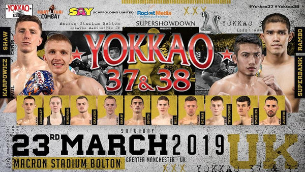 YOKKAO 37 - 38 Full Fight Card