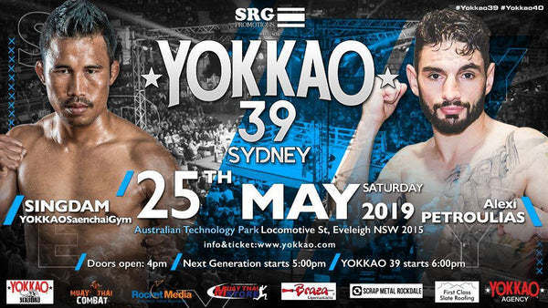 Singdam vs Alexi Petroulias to Headline YOKKAO 39