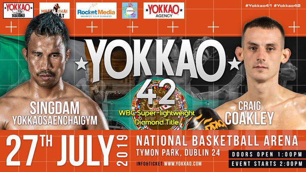 BREAKING: Singdam vs Coakley for WBC Diamond title at YOKKAO 42