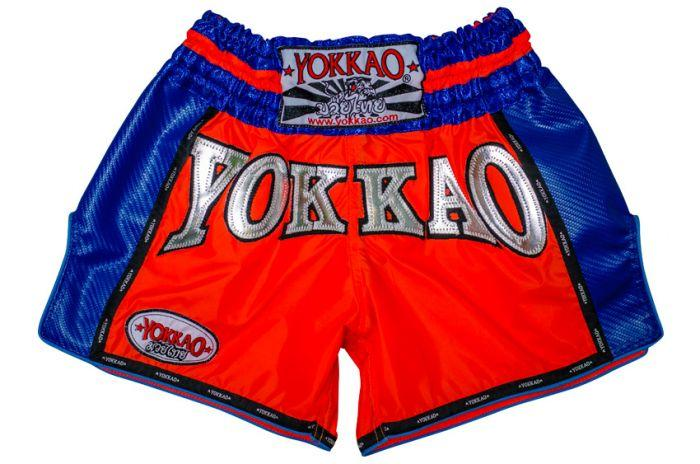 YOKKAO Airtech Carbon Neon Orange Shorts