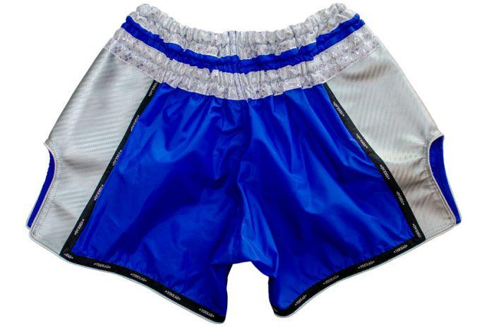 YOKKAO Airtech Carbon Electric Blue Shorts