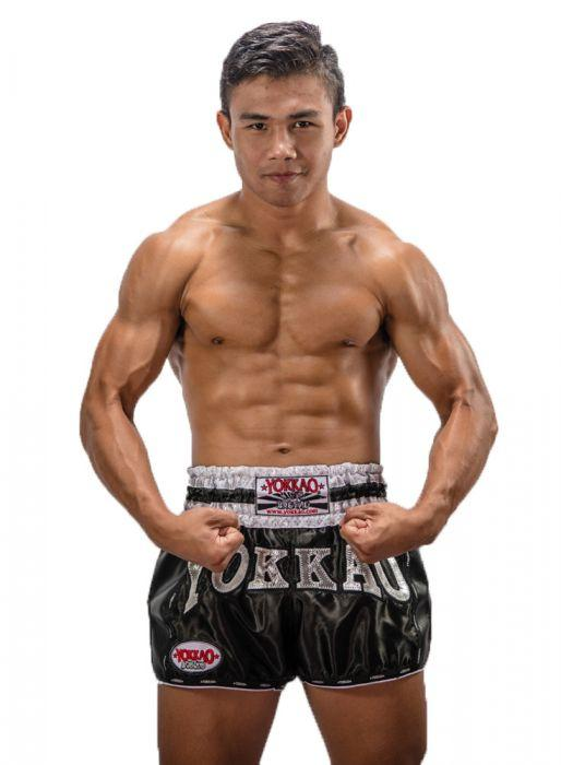 Yokkao Black Carbon Shorts