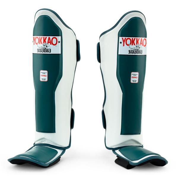 Double Impact Matrix Petroleum-White Shin Guards