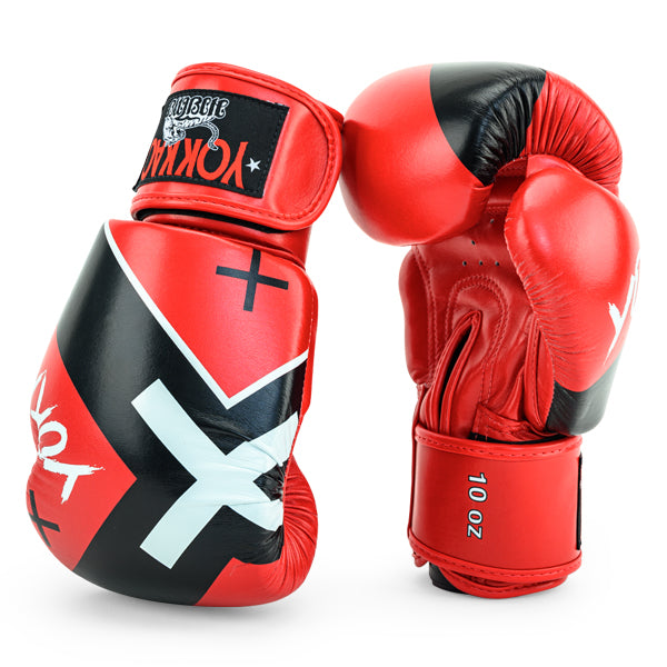 X-Red Muay Thai Boxing Gloves