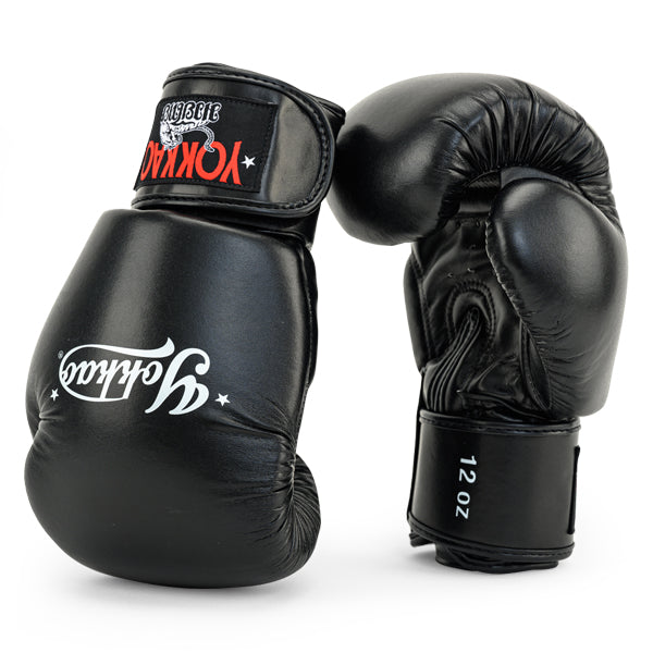 Vertigo Black Muay Thai Gloves