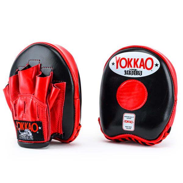 Focus Mitts Small Black/Red