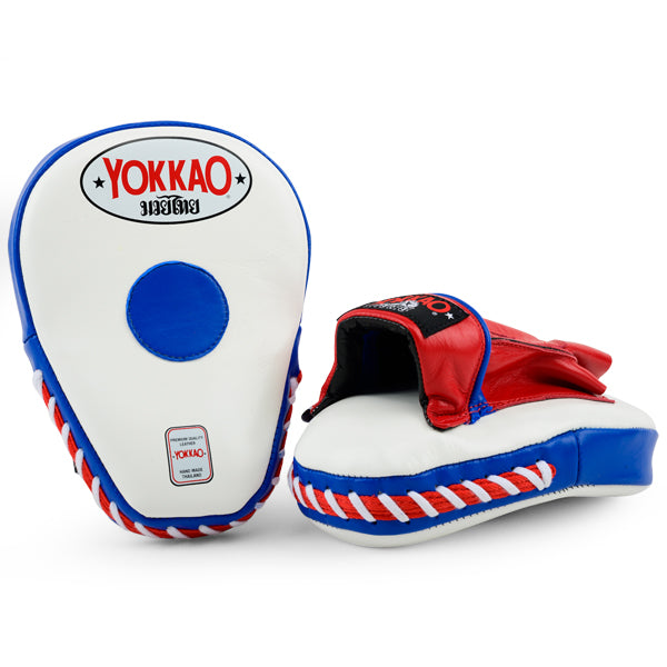 YOKKAO Thai Flag Curved Focus Mitts
