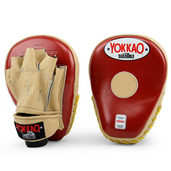 Focus Mitts Open-Finger Vintage Red