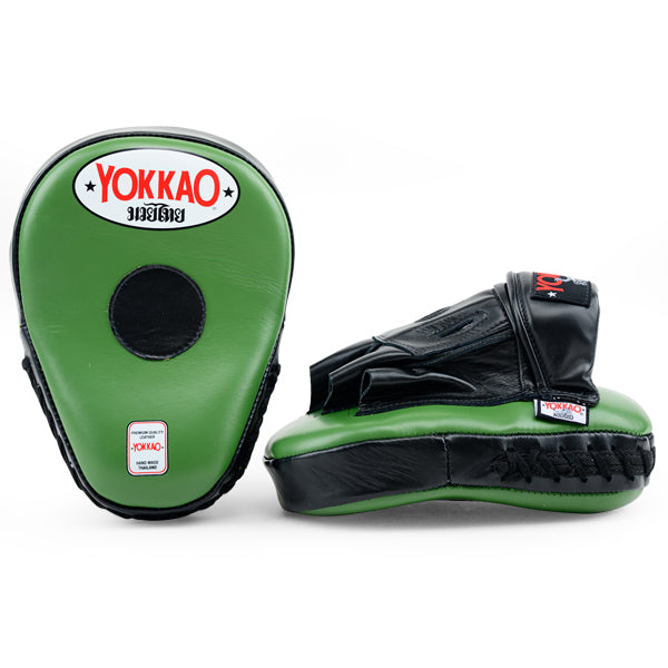 Focus Mitts Open-Finger Matrix Green/Black