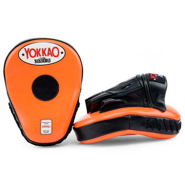 YOKKAO Curved Focus Mitts Orange/Black