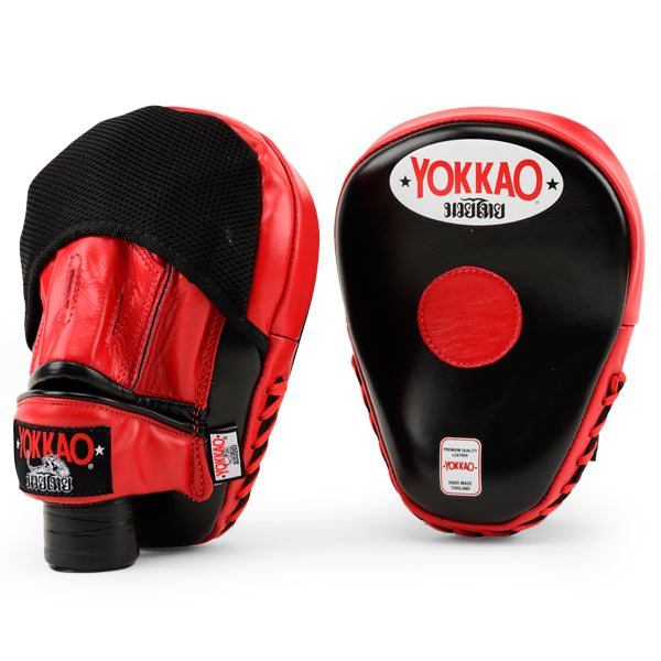 Focus Mitts Close-Finger Black/Red
