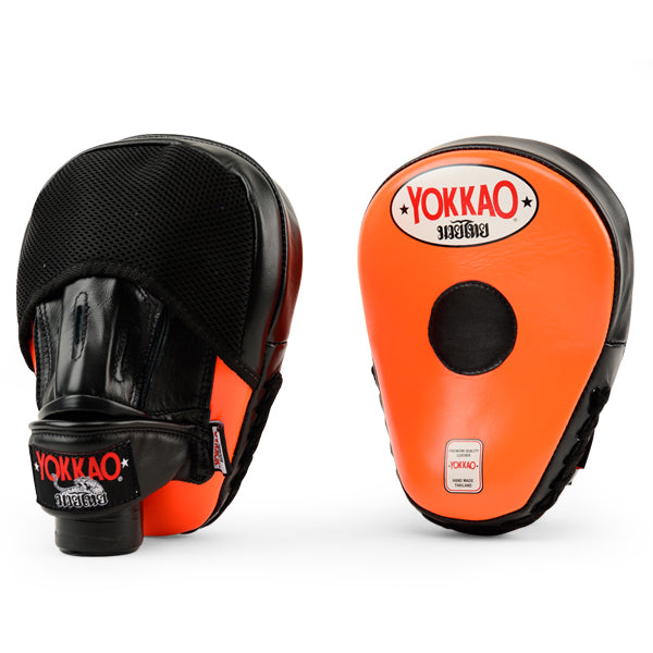 Focus Mitts Close-Finger Orange/Black