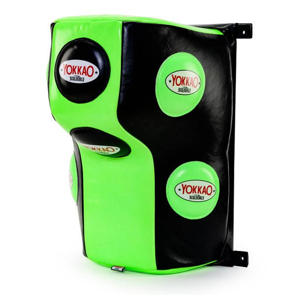 Wall Mounted Heavy Bag Neon Green/Black