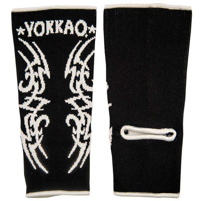 YOKKAO Tribal Muay Thai Ankle Guards Black