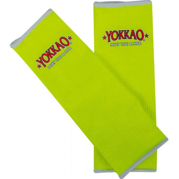 Ankle Guards NEON Yellow