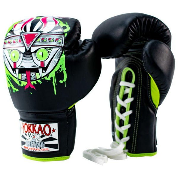 APEX Snake Lace-Up Boxing Gloves