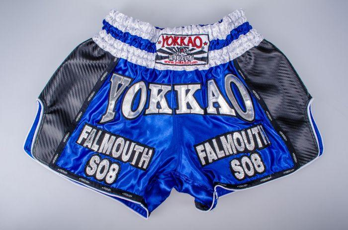 YOKKAO Blue Carbon Muay Thai Shorts