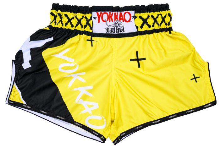 "CarbonFit ""X"" Shorts Yellow"