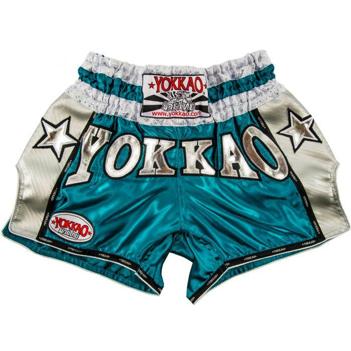 YOKKAO Vintage Carbon Shorts Blue/Silver
