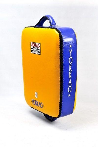 Yellow/Blue Yokkao Low Kick Pad