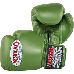 Matrix Green Boxing Gloves