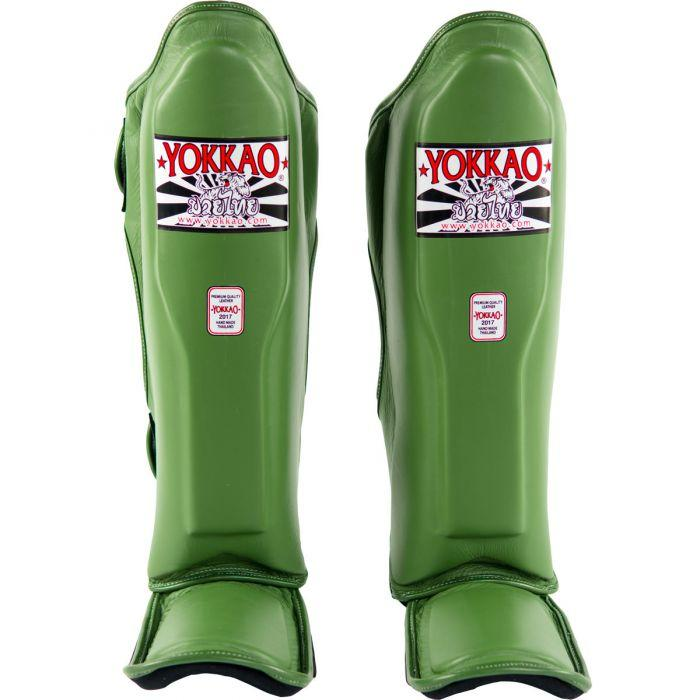 Matrix Green Shin Guards