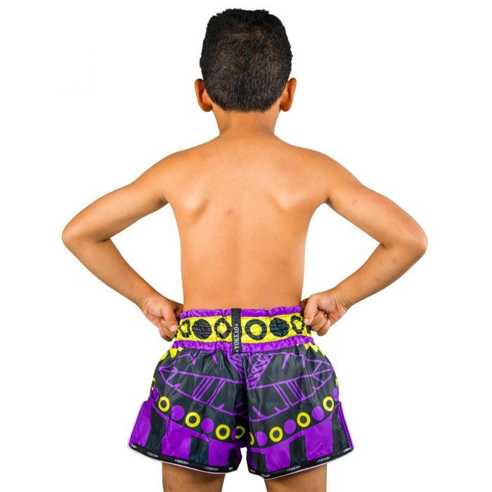 CarbonFit Sick Blue/Green Shorts Kids
