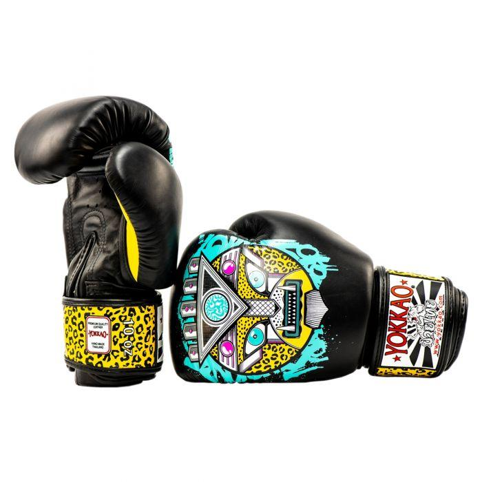APEX Leopard Muay Thai Boxing Gloves