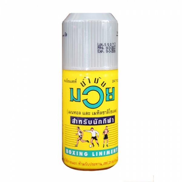 Muay Thai Boxing Liniment - Nammuay Muay Thai Oil 120ml