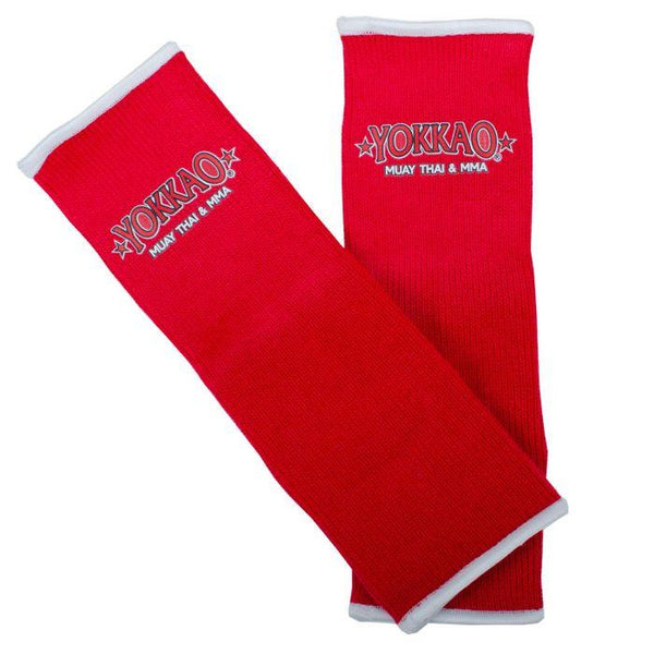 Ankle Guards Red Muay Thai