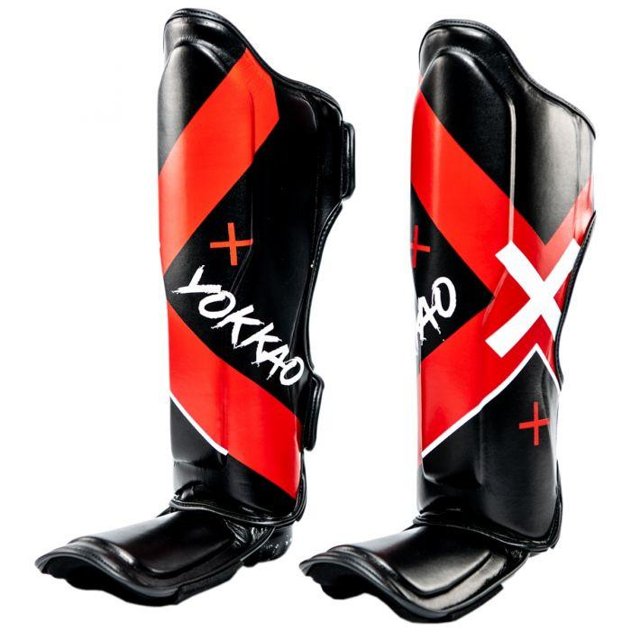 X-Black Shin Guards