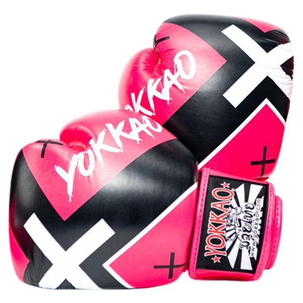 X-Pink Muay Thai Boxing Gloves