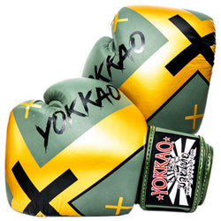 X-Green Muay Thai Boxing Gloves