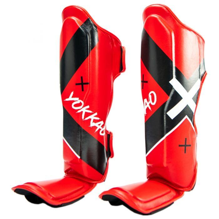 X-Red Shin Guards