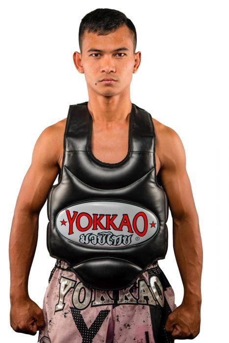 Muay Thai Body Protector Black