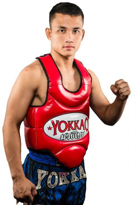 Muay Thai Body Protector Red