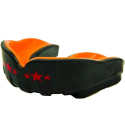Muay Thai Boxing Mouth Guard Black/Orange