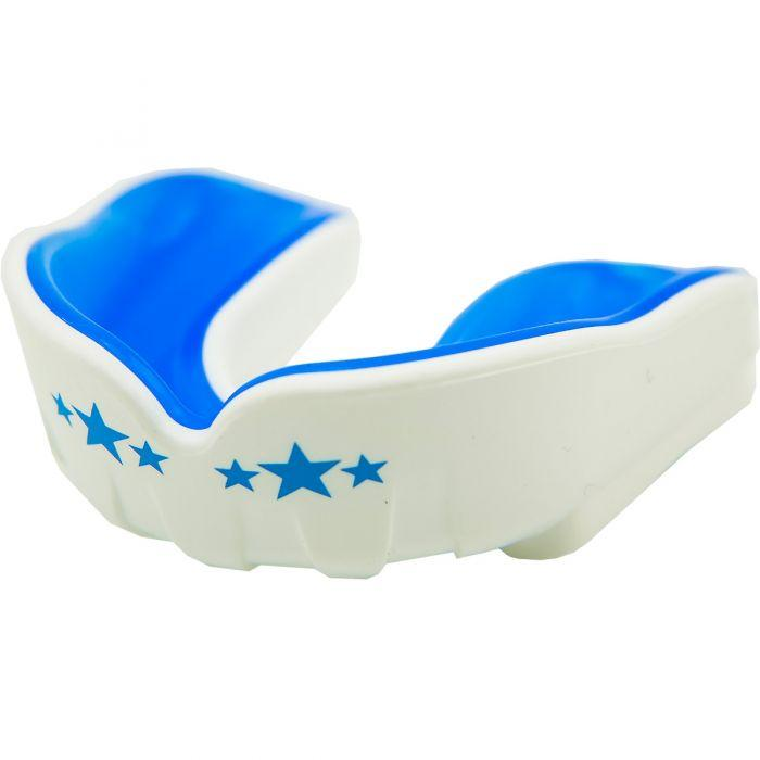 Muay Thai Boxing Mouth Guard White/Blue