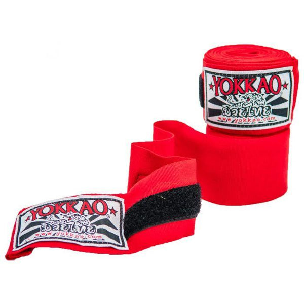 YOKKAO Premium Hand Wraps Red