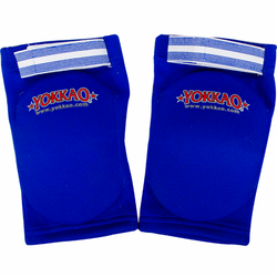 Yokkao Muay Thai Boxing Elbow Guard Blue Cotton