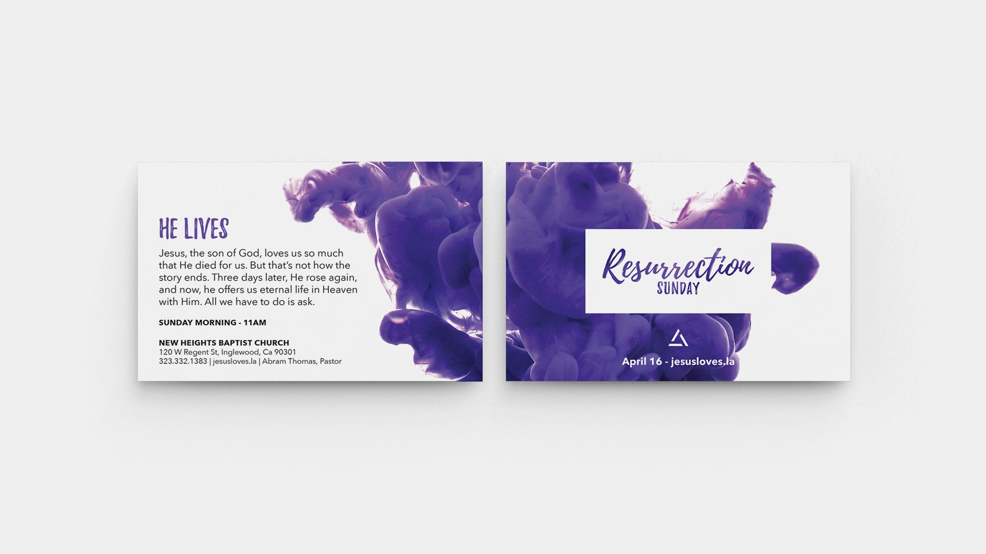 Resurrection Sunday Invite Card